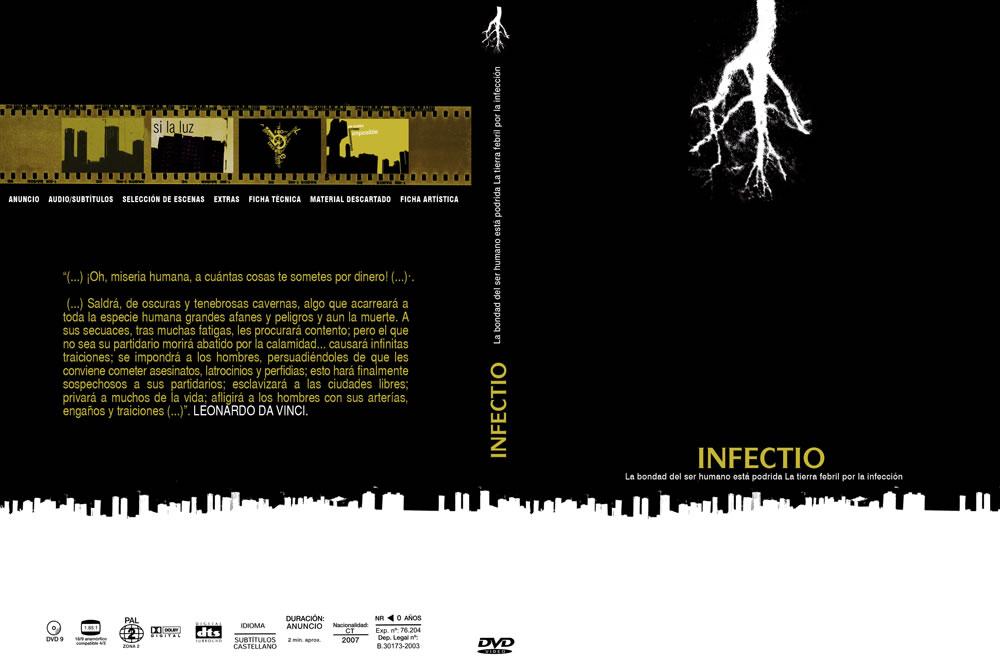 ▲ INFECTIO TEASER DVD.