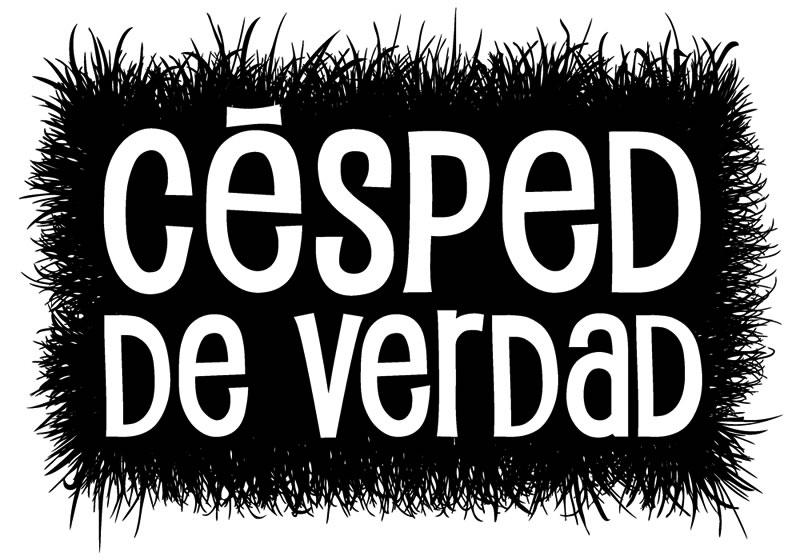 ▲ CÉSPED DE VERDAD.