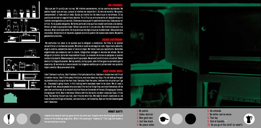 ▴ MILKHOUSE CD. INSERT.