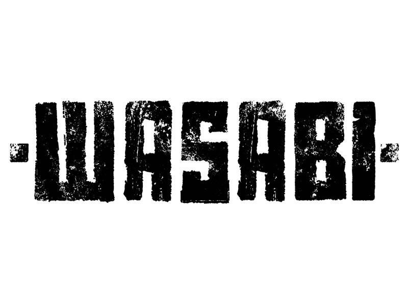 ▲ WASABI LOGO [2012].